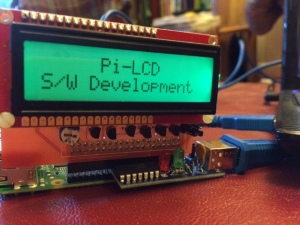 Pi-LCD with Debug clip